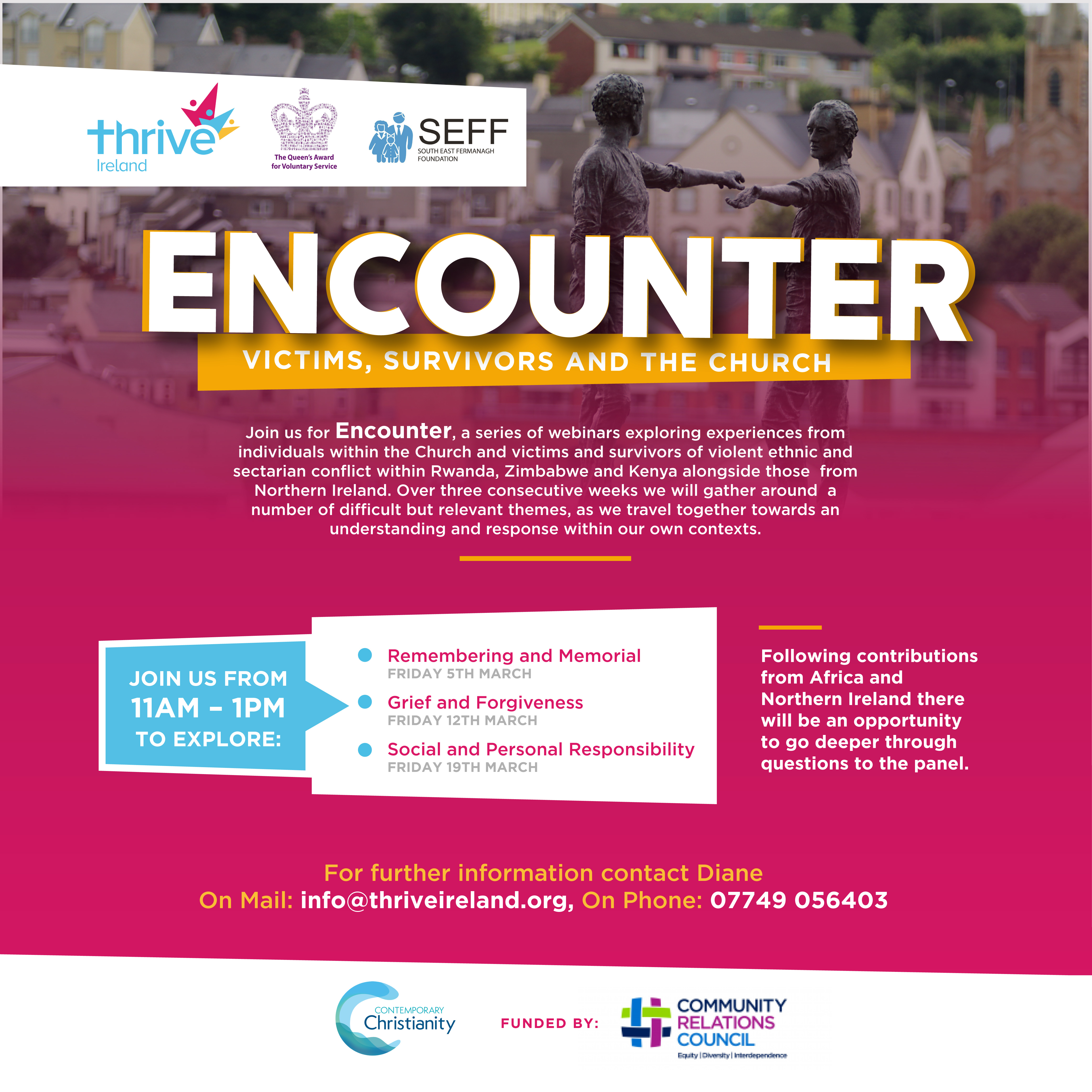 Encounter Workshops with Thrive Ireland